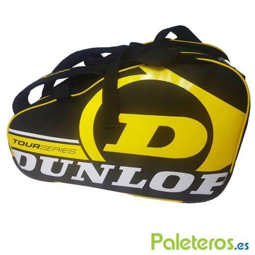 DUNLOP Paletero Padel Intro Amarillo