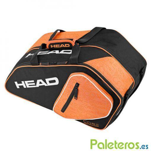 Paletero Core Combi naranja y negro de HEAD