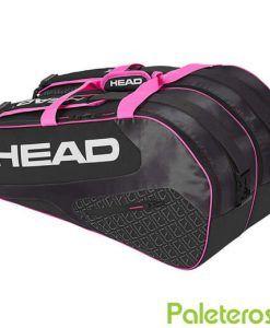 Paletero HEAD Elite negro y rosa