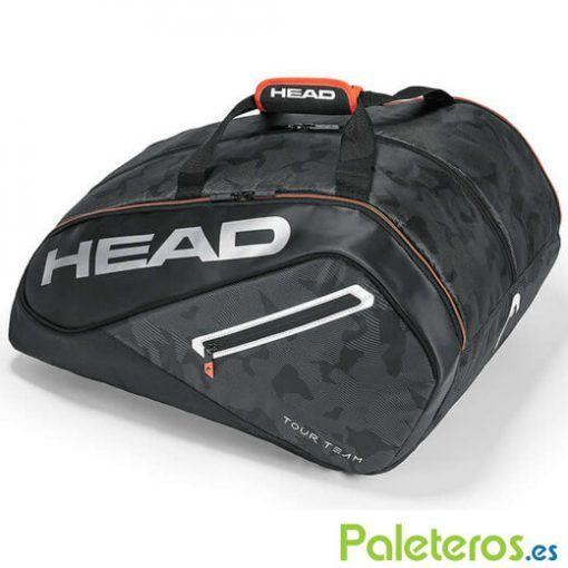Paletero HEAD Tour Team negro-plata 2018