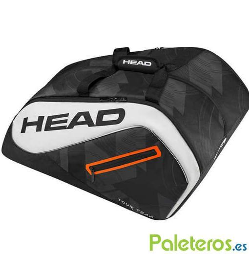 Paletero HEAD Tour Team blanco y negro