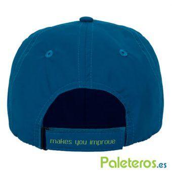 Gorra ajustable azul NOX