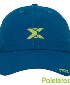 Gorra técnica azul de Nox