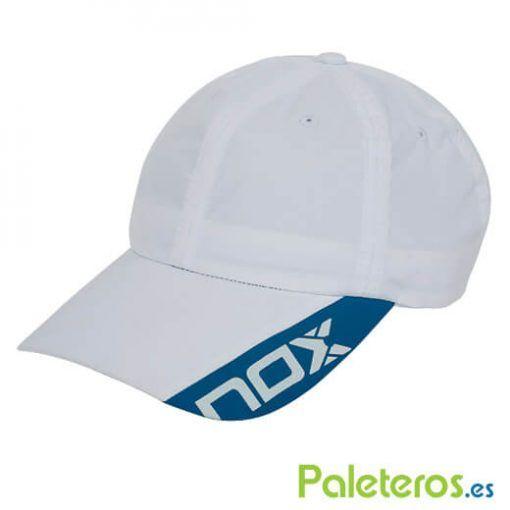 Gorra técnica blanca Nox