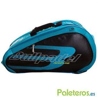 Paletero Bullpadel Avantline azul y negro