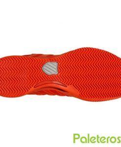 Suela espiga zapatillas Hypercourt 2.0 Hb- rojas de K-Swiss