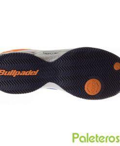 Suela de espiga zapatillas Bullpadel Beter azul
