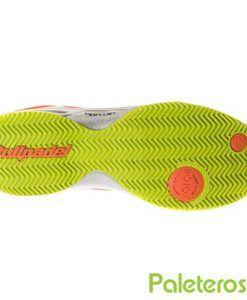 Suela de espiga zapatillas Beter naranja