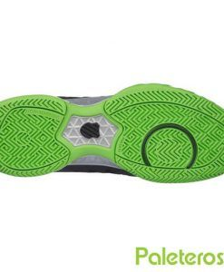 Suela zapatillas Bigshot Light negras-verdes de Kswiss