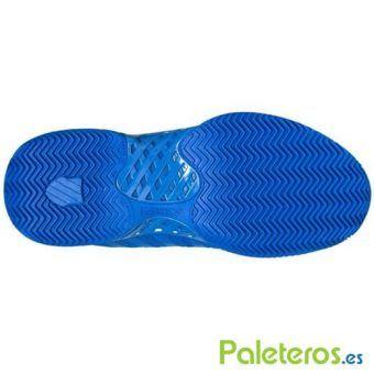 Suela zapatillas Hypercourt Express Hb azules de K-Swiss