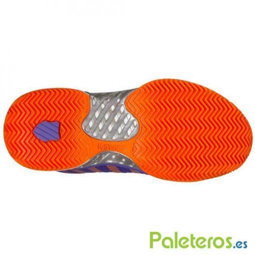 Suela zapatillas Hypercourt Express Hb naranjas de K-Swiss