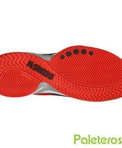 Suela de las zapatillas K-Swiss Knitshot Fiery