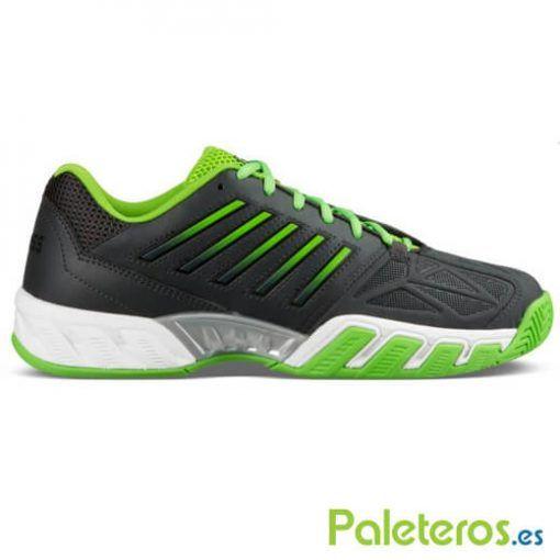 Zapatillas K-Swiss Bigshot Light negras y verdes