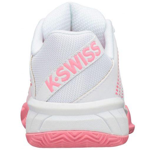 Zapatillas KSwiss Express Light 2 HB Blanca-Rosa Mujer
