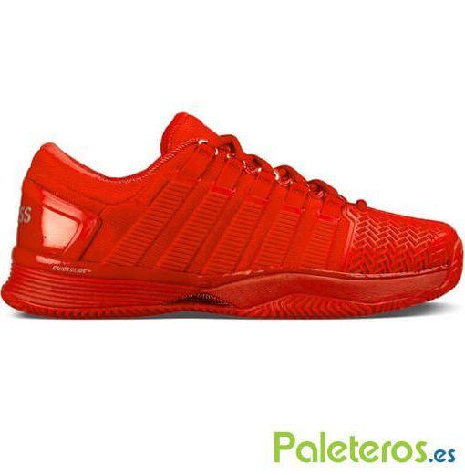 Zapatillas K-Swiss Hypercourt 2 Hb rojas