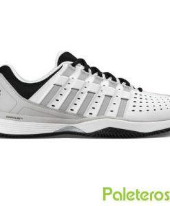 Zapatillas K-Swiss Hypermatch HB blancas y grises