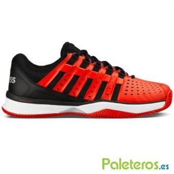 Zapatillas K-Swiss Hypermatch HB rojas y negras