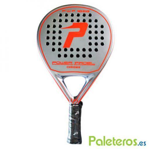 Pala Power Padel 1000 Chrome roja