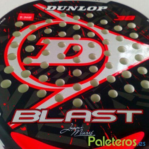 Dunlop Blast Red pala de Juani Mieres