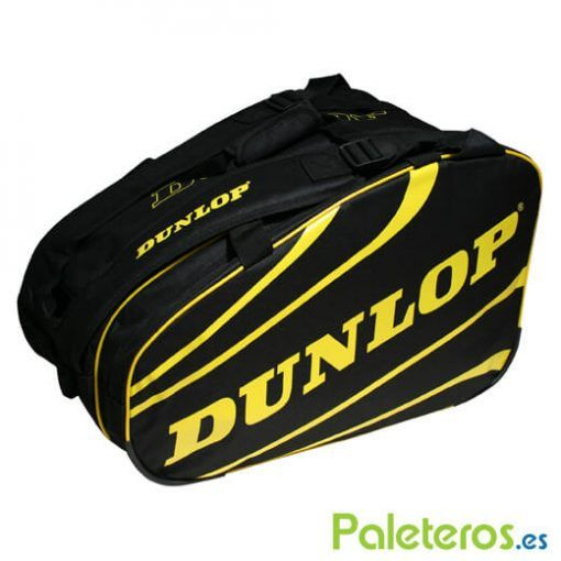 Paletero Dunlop Competition amarillo y negro
