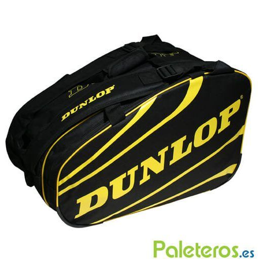 Paletero Dunlop Competition amarillo y negro