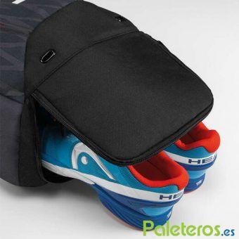 Zona para calzado mochila HEAD Djokovic