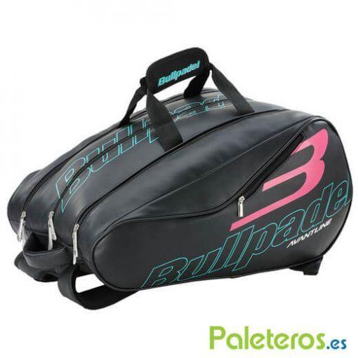 Paletero Bullpadel Avantline negro y rosa