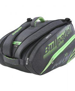 Paletero Bullpadel Mid Capacity Negro-Verde