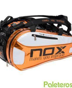 Paletero Nox naranja y blanco