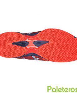 Suela de las zapatillas Asics Padel Lima