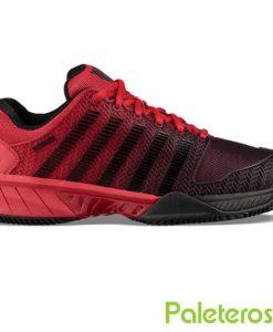 Zapatillas K-Swiss Hypercourt Express Roja-Negra