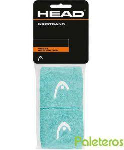 Muñequeras HEAD azul turquesa