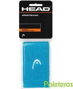 Muñequeras HEAD azul claro