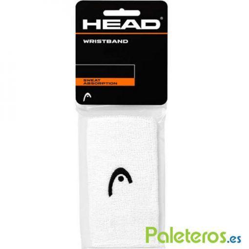 Muñequeras HEAD Blancas