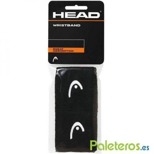 Muñequeras HEAD negras pequeñas