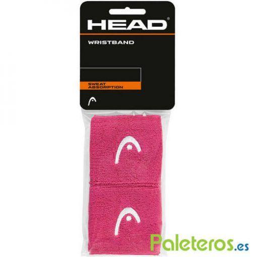 Muñequeras rosas pequeñas de HEAD