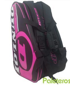 Paletero Dunlop rosa Tour Series