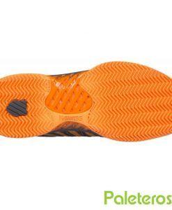 Suela de espiga zapatillas Hypercourt Express naranjas