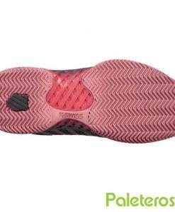 Suela de espiga zapatillas Hypercourt Express rosas