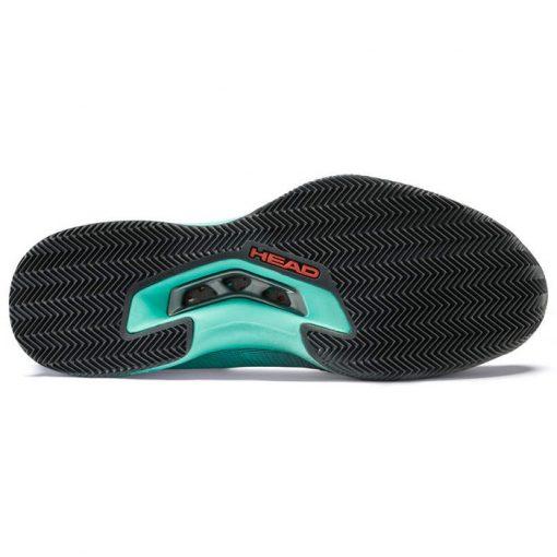 Zapatillas Head Sprint Pro 3.0 Turquesas Suela