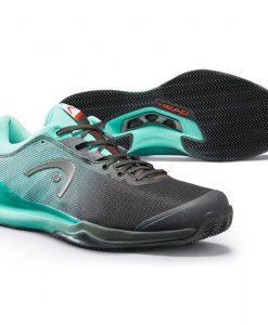 Zapatillas Head Sprint Pro 3.0 Clay Verdes