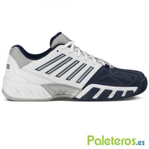 Zapatillas Kswiss Bigshot Light 3 blancas y azules