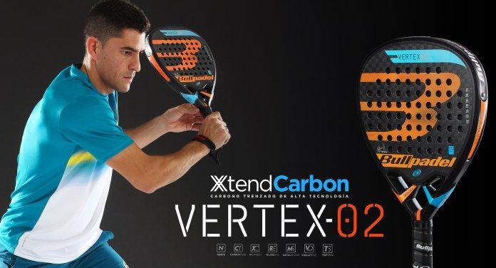 Maxi Sanchez con su pala Vertex 2