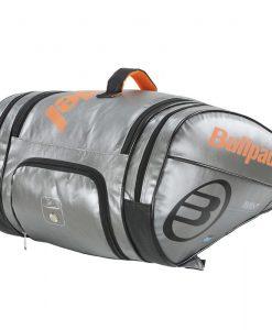 Paletero Bullpadel Big Capacity Plata Detalle