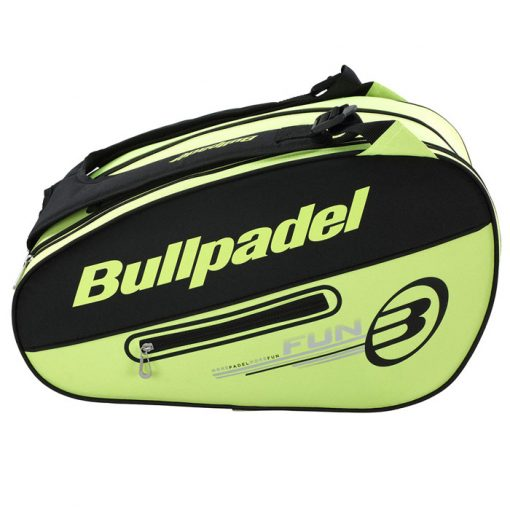 Paletero Bullpadel Fun Amarillo Limón