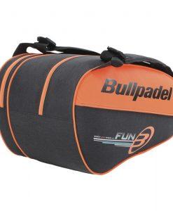 Paletero Bullpadel Fun Naranja Flúor