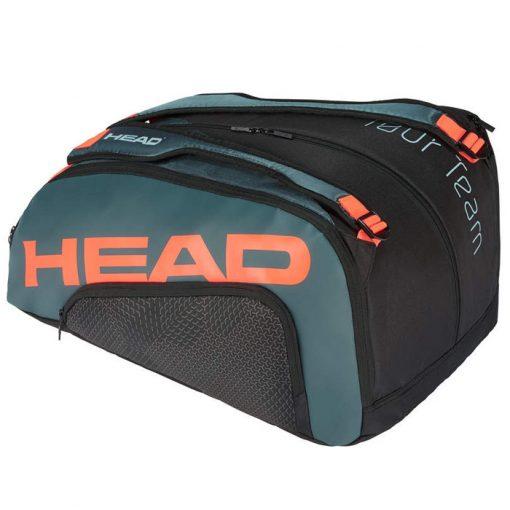Paletero Head Tour Team Negro-Naranja