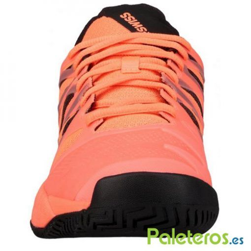 Frontal zapatillas Ultrashot naranjas de K-Swiss