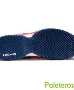 Suela de espiga zapatillas Revolt Pro 2.5 de HEAD