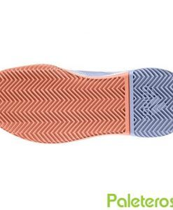 Suela de las zapatillas Adizero Defiant moradas
